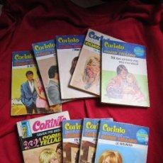 Libros de segunda mano: LOTE 9 NOVELAS ROMANTICAS COLECCION SILVIA CORIN TELLADO BOLSILIBROS BRUGUERA SERIE NOVELAS INEDITAS. Lote 122292547