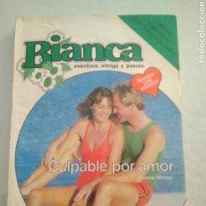 Libros de segunda mano - Bianca aventura,intriga y pasion ,culpable por amor.1985.yvone whittal - 124827343