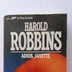 Libros de segunda mano: ADIÓS, JANETTE HAROLD ROBBINS. Lote 125442890