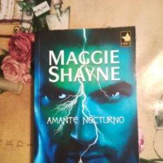 Libros de segunda mano: AMANTE NOCTURNO - MAGGIE SHAYNE. Lote 127637099