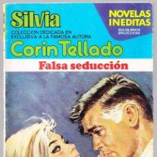 Libros de segunda mano: M - FALSA SEDUCCION - CORIN TELLADO - SILVIA Nº 362 - BRUGUERA 1981. Lote 128304415