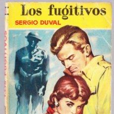 Libros de segunda mano: M - LOS FUGITIVOS - SERGIO DUVAL - CAMELIA Nº 51 - BRUGUERA 1955. Lote 128304979