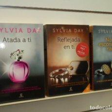 Libros de segunda mano: CROSSFIRE COMPLETA 3 LIBROS - SYLVIA DAY - ESPASA OFERTA. Lote 128704759