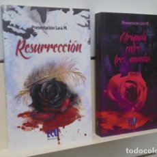 Libros de segunda mano: ATRAPADA ENTRE TRES MUNDOS + RESURRECCION - EDITA ECU - OFERTA. Lote 128705067