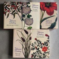 Libros de segunda mano: LOTE 5 LIBROS DE JOHANNA LINDSEY. ED, CÍRCULO DE LECTORES.. Lote 129578447
