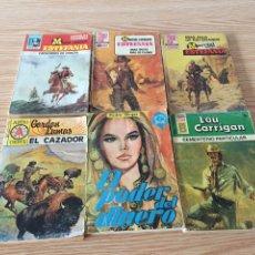 Libros de segunda mano: LOTE NOVELAS ANTIGUAS. Lote 131064252
