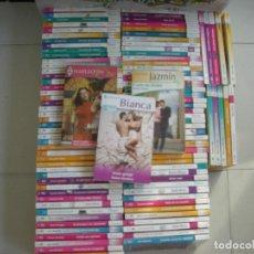 Libros de segunda mano: GRAN LOTE 100 NOVELAS ROMANTICAS ( LA MAYORIA BIANCA ) - ALGUNAS ARLEQUIN Y JAZMIN. Lote 131141900