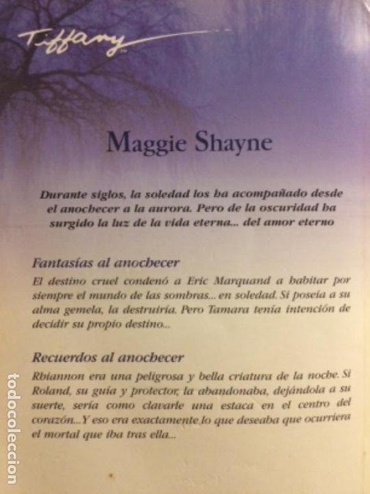 Libros de segunda mano: Fantasías al anochecer/Recuerdos al anochecer. 2 en 1. Harlequin ibérica 2009 - Foto 2 - 131389014