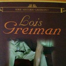 Libros de segunda mano: LOIS GREIMAN. TERAPIA SENSUAL.. Lote 132038747