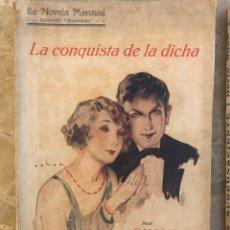 Libros de segunda mano: 2 LIBROS DE LA NOVELA MENSUAL, EDICIÓN ESMERALDA. Lote 132142118