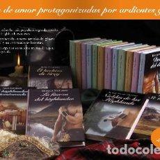 Libros de segunda mano: COLECCION COMPLETA LIBROS RBA HIGHLANDER . Lote 133546066