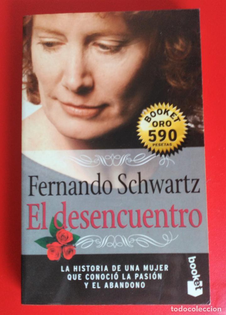 LOTE 3 LIBROS - BOOKET EL DESENCUENTRO - TE DI LA VIDA ENTERA - EL PERFUME EDICIÓN DE BOLSILLO (Libros de Segunda Mano (posteriores a 1936) - Literatura - Narrativa - Novela Romántica)