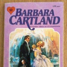 Libros de segunda mano: BARBARA CARTLAND _ EL ENGAÑO. Lote 141488152