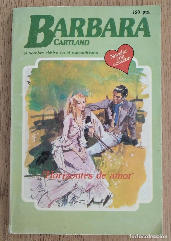 BARBARA CARTLAND _ HORIZONTES DE AMOR (Libros de Segunda Mano (posteriores a 1936) - Literatura - Narrativa - Novela Romántica)