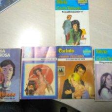 Libros de segunda mano: CORIN TELLADO LOTE DE CINCO NOVELAS SURTIDO. Lote 134652986