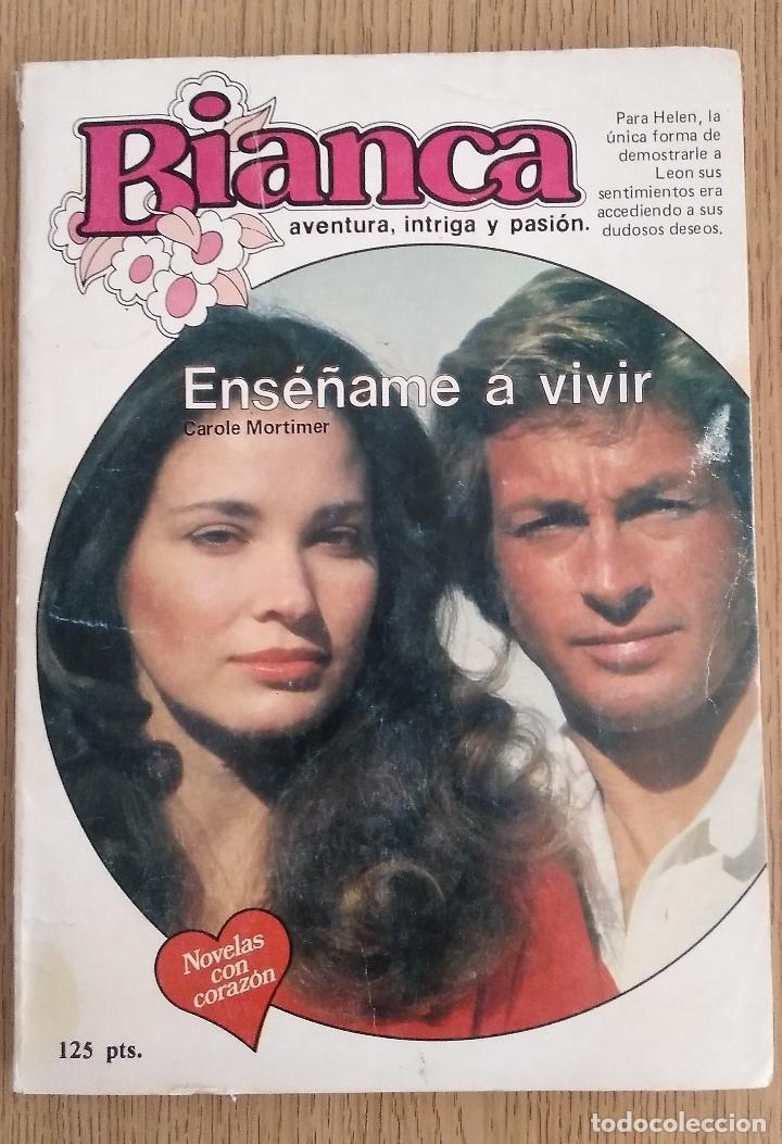 BIANCA _ ENSEÑAME A VIVIR (Libros de Segunda Mano (posteriores a 1936) - Literatura - Narrativa - Novela Romántica)