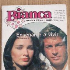 Libros de segunda mano: BIANCA _ ENSEÑAME A VIVIR. Lote 134735694
