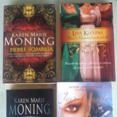Libros de segunda mano: LOTE 4 LIBROS DE NOVELA ROMÁNTICA. LISA KLEIPAS. KAREN MARIE MONIN. JAYNE ANN KRENTZ.. Lote 134902230
