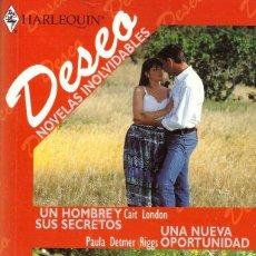 Libros de segunda mano - Novelas inolvidables - Deseo, Harlequin - OFERTAS DOCABO - 135171562