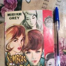 Libros de segunda mano: SOMBRAS DEL PASADO - MIRYAM GREY - 1963. Lote 135189470