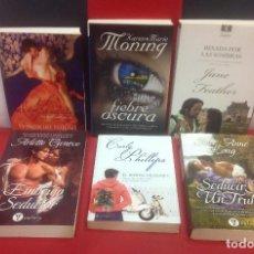 Libros de segunda mano: LOTE DE 6 NOVELAS DE NARRATIVA ROMANTICA. Lote 136382506