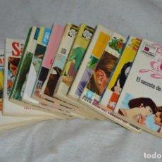 Libros de segunda mano: LOTE DE 12 LIBROS / NOVELAS ROMÁNTICAS - VARIADAS - BRUGUERA - AMERICA - ROLLAN - ENVÍO 24H. Lote 137304946