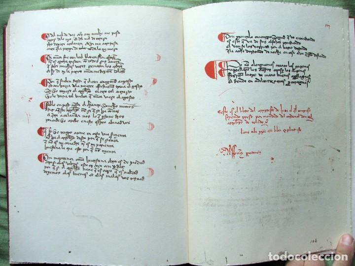 Libros de segunda mano: LIBRO DE BUEN AMOR.EDICIÓN FACSÍMIL DEL CÓDICE DE SALAMANCA .-JUAN RUIZ,ARCIPRESTE DE HITA - Foto 14 - 139584378