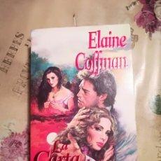 Libros de segunda mano: LA CARTA DE LA DISCORDIA - ELAINE COFFMAN. Lote 140160090