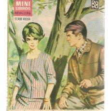 Libros de segunda mano: MINI LIBROS BRUGUERA. SERIE ROSA. Nº 68. DIABLILLO. CORÍN TELLADO. (P/D51). Lote 141123602