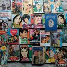 Libros de segunda mano: LOTE 26 NOVELAS ROMÁNTICAS BOLSILLO, BOLSILIBRO. Lote 109572143