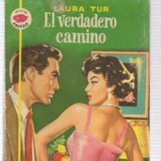 Libros de segunda mano: AMAPOLA. Nº 229. EL VERDADERO CAMINO. LAURA TUR. BRUGUERA 1956. (ST/C5) . Lote 141524926