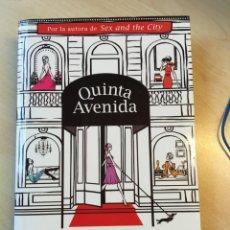 Libros de segunda mano: CANDANCE BUSHNELL. QUINTA AVENIDA. Lote 142749758