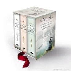 Libros de segunda mano: TRILOGÍA NUBE BLANCA ESTUCHE CON EN EL PAÍS DE LA NUBE BLANCA - LA CANCIÓN DE LOS MORIES.. Lote 143271264