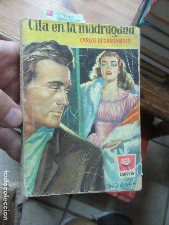 LIBRO CITA EN LA MADRUGADA CARLOS DE SANTANDER CAMELIA 1ª 1956 BRUGUERA N-1111-482 (Libros de Segunda Mano (posteriores a 1936) - Literatura - Narrativa - Novela Romántica)
