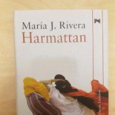 Libros de segunda mano: HARMATTAN (ALIANZA LITERARIA) TAPA DURA. MARIA J. RIVERA TAPA DURA. 2009. Lote 144259194