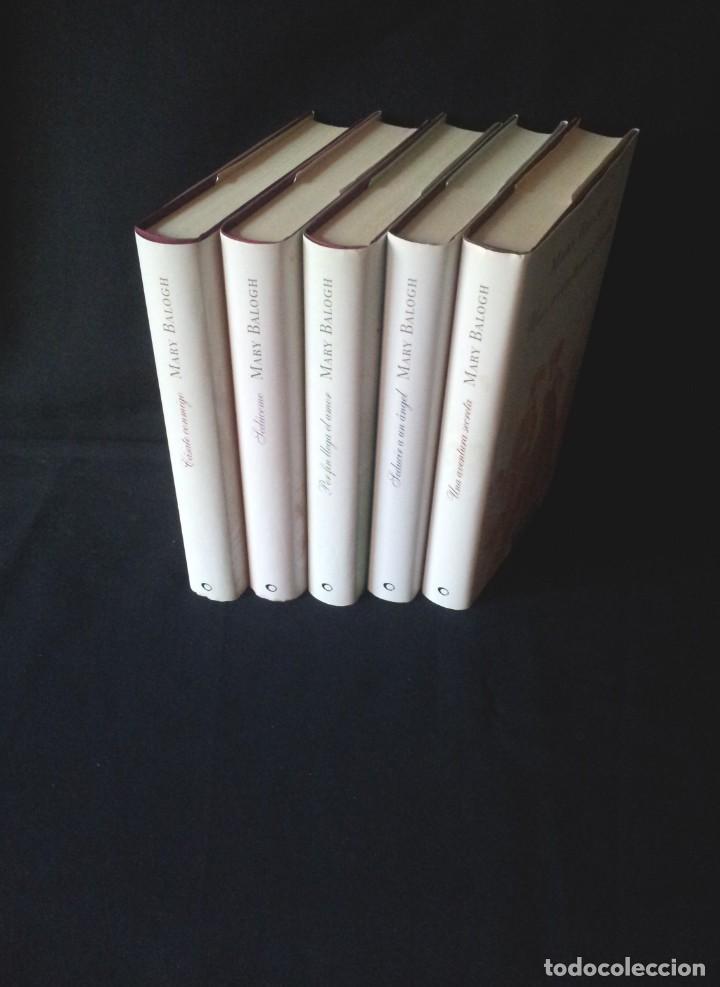 MARY BALOGH - SERIE DE LOS HUXTABLE, 5 TOMOS COMPLETA - CIRCULO DE LECTORES (Libros de Segunda Mano (posteriores a 1936) - Literatura - Narrativa - Novela Romántica)