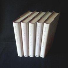 Libros de segunda mano: MARY BALOGH - SERIE DE LOS HUXTABLE, 5 TOMOS COMPLETA - CIRCULO DE LECTORES. Lote 144466050