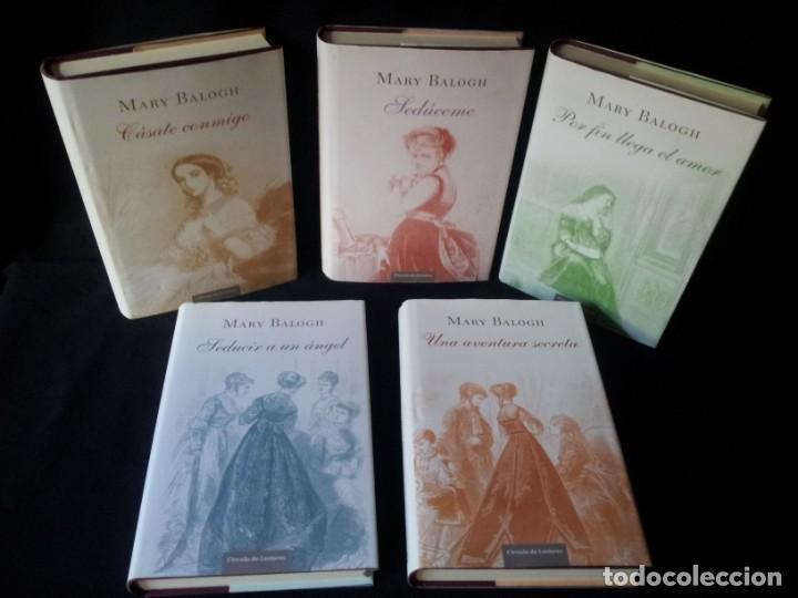 Libros de segunda mano: MARY BALOGH - SERIE DE LOS HUXTABLE, 5 TOMOS COMPLETA - CIRCULO DE LECTORES - Foto 2 - 144466050