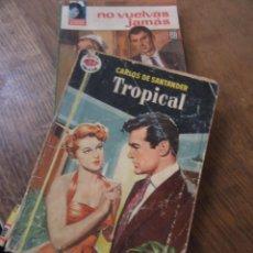 Libros de segunda mano: LIBRO TROPICAL CARLOS SANTANDER AMAPOLA Nº358 1958 1ª ED. BRUGUERA N-1111-549. Lote 146407362