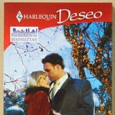 Libros de segunda mano: LMV - NOVELA ROMANTICA HARLEQUIN DESEO. NOCHE DE PASION DE EMILIE ROSE. Lote 147501242