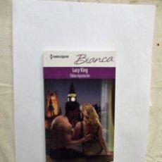 Libros de segunda mano: NOVELA ROMANTICA COL. BIANCA - FALSA REPUTACION DE LUCY KING . Lote 148218570
