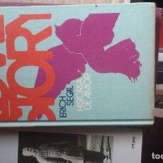 Libros de segunda mano: LOVE STORY HISTORIA DE AMOR ERICH SEGAL. EDIT. POR CIRCULO DE LECTORES. Lote 148779050