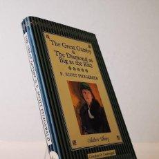 Libros de segunda mano: THE GREAT GATSBY & THE DIAMOND AS BIG AS THE RITZ,F. SCOTT FITZGERALD,COLLECTORS LIBRARY,2005,INGLÉS. Lote 148996978