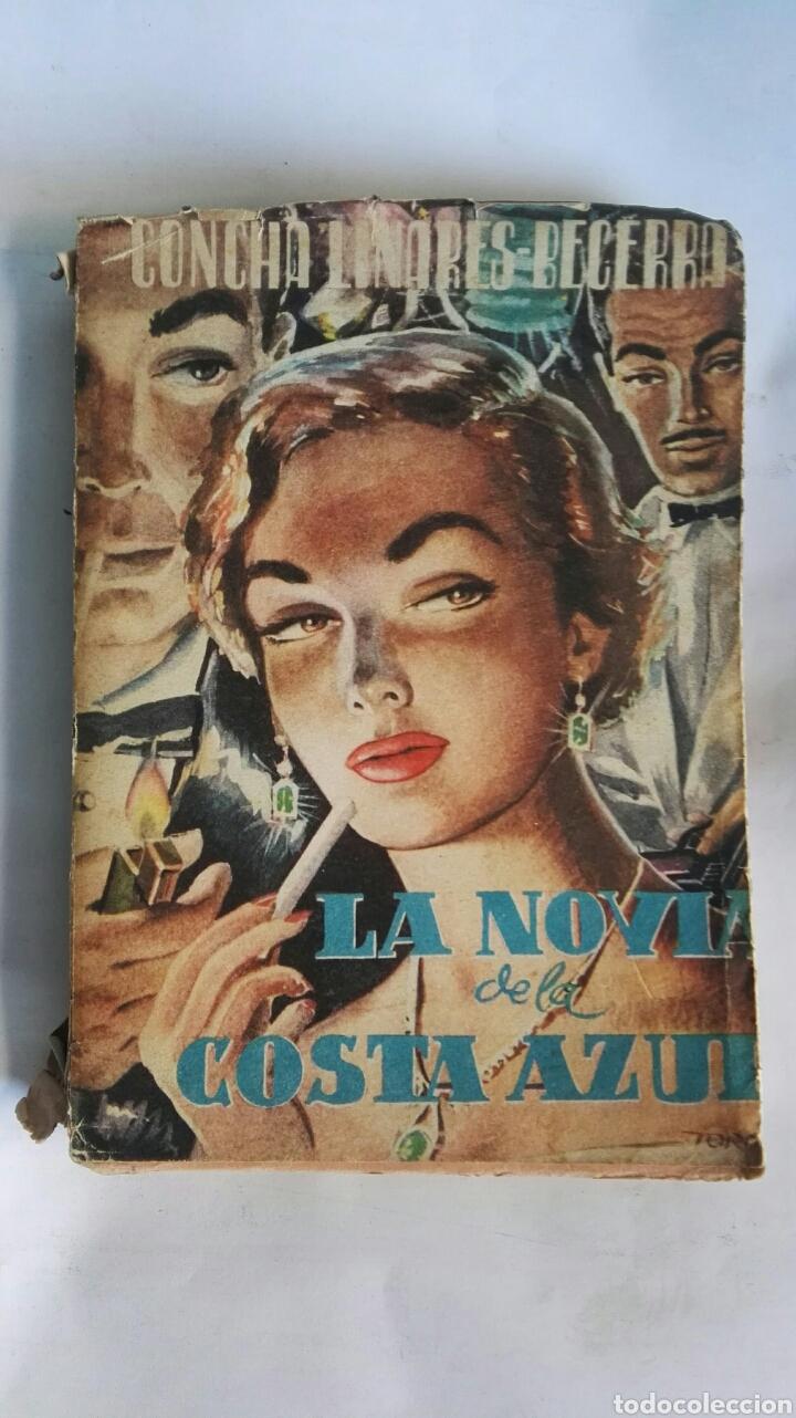 LA NOVIA DE LA COSTA AZUL 1954 (Libros de Segunda Mano (posteriores a 1936) - Literatura - Narrativa - Novela Romántica)