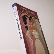 Libros de segunda mano: BECKY PREPARA SU BODA,SOPHIE KINSELA,EDITORIAL SALAMANDRA,2008.. Lote 149590374