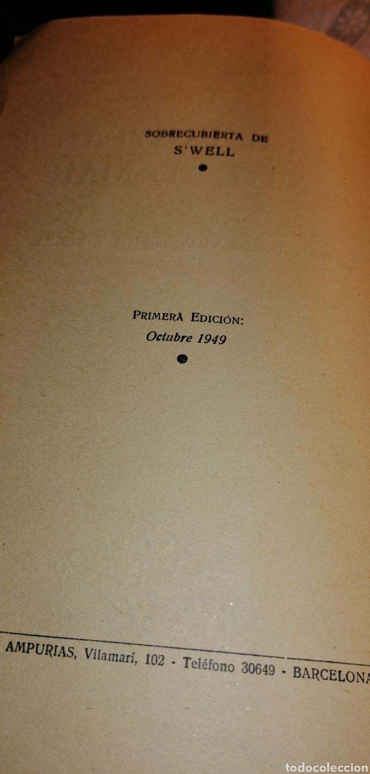 Libros de segunda mano: NOVELA DE 1949 TRES POETAS JUNTO AL MAR DE NOEL CLARASO - Foto 3 - 149974454