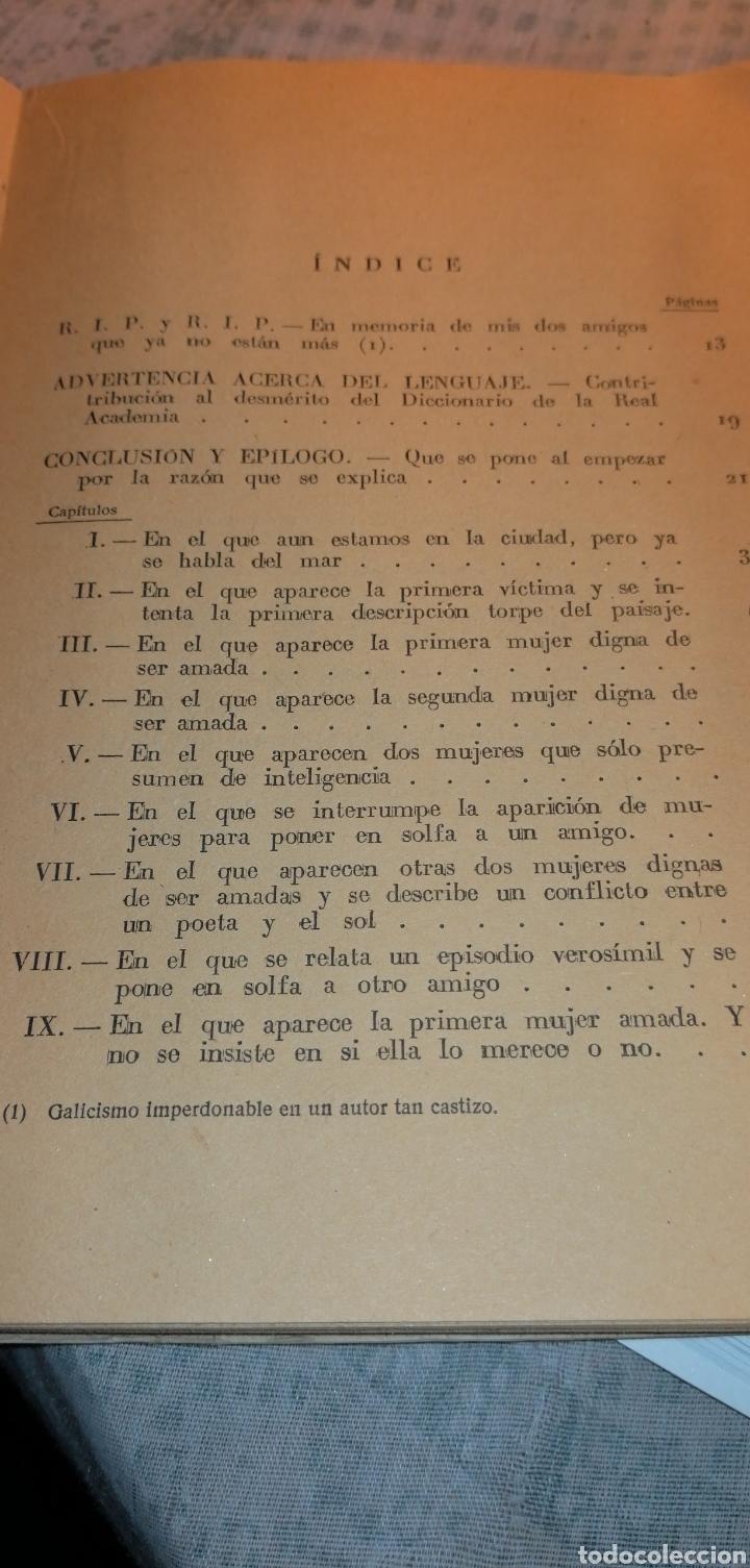 Libros de segunda mano: NOVELA DE 1949 TRES POETAS JUNTO AL MAR DE NOEL CLARASO - Foto 4 - 149974454