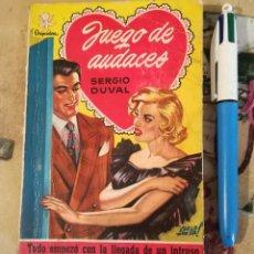Libros de segunda mano: JUEGO DE AUDACES - SERGIO DUVAL. Lote 150200678