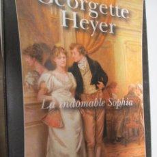 Livres d'occasion: LA INDOMABLE SOPHIA. HEYER (GEORGETTE) BARCELONA, SALAMANDRA, 2007.. Lote 151432046