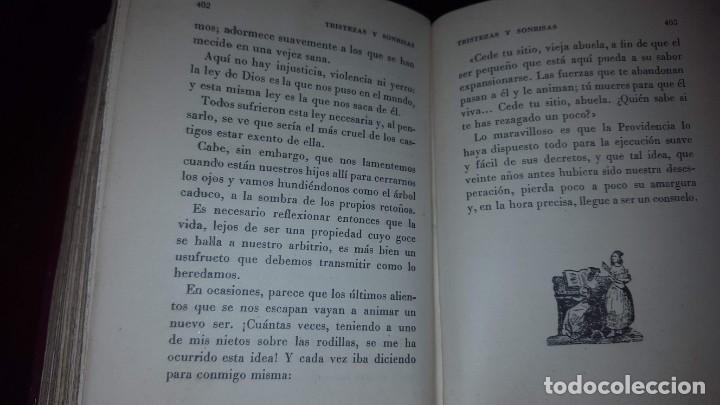 Libros de segunda mano: Tristezas y sonrisas - Gustavo Droz - Barcelona -1943 - Foto 9 - 151661178